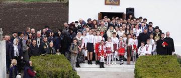 Vizită misionară şi caravană medicală în satul Ciureştii Noi, judeţul Galaţi