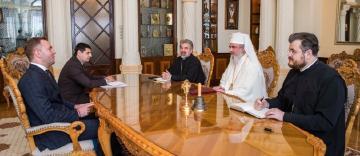 Ambasadorul Ucrainei în România, în vizită de prezentare la Patriarhia Română