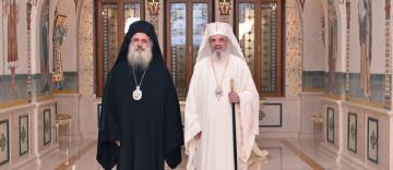 Vizita Înaltpreasfințitului Părinte Teodosie, Arhiepiscop de Sevastia, la Patriarhia Română