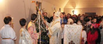Binecuvântarea lucrărilor de la capela închinată Sf. Dimitrie cel Nou din Galaţi