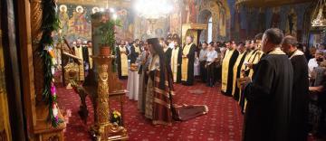 """Cinstirea sfintei icoane a Maicii Domnului """"Prodromiţa"""" în Arhiepiscopia Dunării de Jos"""