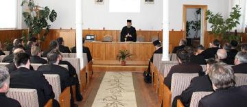 Conferinţa semestrială a preoţilor din Protopopiate Galaţi, Tg. Bujor şi Însurăţei