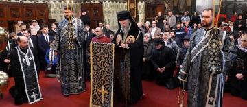 Denia Canonului cel Mare la Catedrala Arhiepiscopală din Galaţi