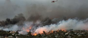 Patriarhul Daniel a adresat un mesaj de compasiune şi solidaritate cu victimele incendiilor din Grecia