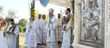 Prăznuirea Sfântului Cuvios Rafail de la Agapia Veche în localitatea sa natală, Bursucani, din judeţul Galaţi