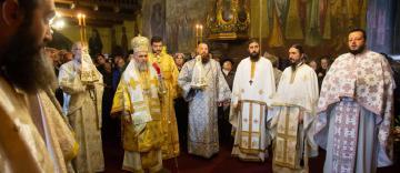 """Hramul Mănăstirii """"Sfinţii Arhangheli Mihail şi Gavriil"""" din Galaţi"""