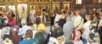 """Hramul bisericii """"Sfântul Dionisie Exiguul"""" din Galaţi"""
