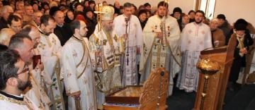 """Hramul parohiei """"Sfântul Grigorie Teologul"""" din Galaţi"""