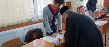 Înaltpreasfinţitului Părinte Casian a participat la vot