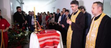 Sfântul Spiridon este ocrotitorul spiritual al Spitalului de Pneumoftiziologie (TBC) din Galaţi