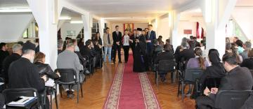 Întrunire consultativă pentru pelerinajul tinerilor liceeni la Mănăstirea Buciumeni