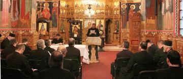 Întrunirea preoţilor capelani care activează în instituţiile sociale gălăţene