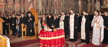"""Poetul naţional Mihai Eminescu a fost omagiat la Seminarul Teologic """"Sfântul Apostol Andrei"""" din Galaţi"""