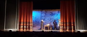"""Piesa de teatru """"Ziditori ai Marii Uniri"""" a fost prezentată la Galaţi"""