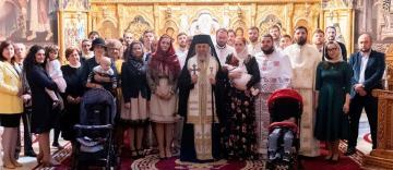 """Revedere după 10 a promoţiei 2009 la Seminarul Teologic """"Sf. Ap. Andrei"""" din Galaţi"""