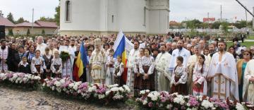 """Sfinţirea bisericii """"Sfântul M. Mc. Gheorghe"""" din localitatea Tuluceşti, judeţul Galaţi"""