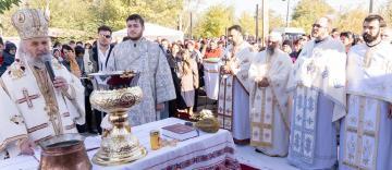 """Sfințirea bisericii """"Sfinții Apostoli Petru și Pavel"""" din satul Pietroiu, județul Brăila"""