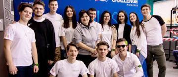 Echipa THOBOR din Tecuci,  locul I la faza regională a concursului First Tech Challenge, de la Iași