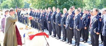 Sărbătoare pentru pompierii români