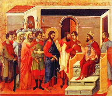 Alegerea între Iisus și Varavva. Alegere între Dumnezeu şi satana,