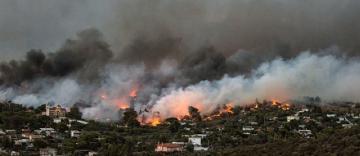Ajutorul financiar al Patriarhiei Române pentru victimele incendiilor din Grecia