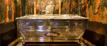 Moaştele Sfântului Spiridon vor ajunge în București