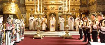 Slujba Vecerniei din Duminica Învierii la Galaţi