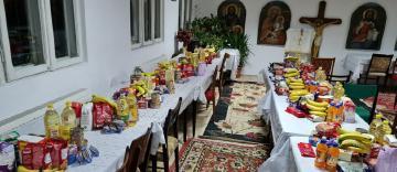 """Activitate cu caracter umanitar în Parohia """"Sfântul Dumitru"""" din Galați"""