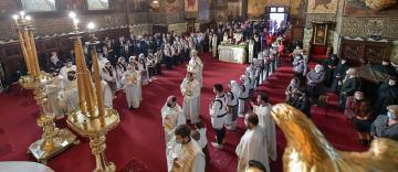 Sfânta Liturghie arhierească şi aşezarea în criptă a osemintelor Episcopului Nifon Niculescu