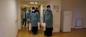 Daruri de sărbătoarea Bunei Vestiri oferite Spitalul de Obstetrică şi Ginecologie din Brăila