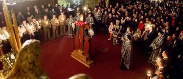 Denia celor 12 Evanghelii la Catedrala Arhiepiscopală din Galaţi