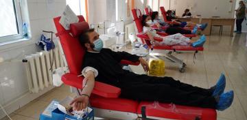 Acţiune de donare de sânge a preoţilor şi credincioşilor din Tecuci