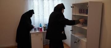 În Arhiepiscopia Dunării de Jos încă un cabinet medical mănăstiresc a fost dotat corespunzător