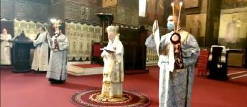 Slujire arhierească în Duminica Sfântului Cuvios Ioan Scărarul la Catedrala Arhiepiscopală din Galați
