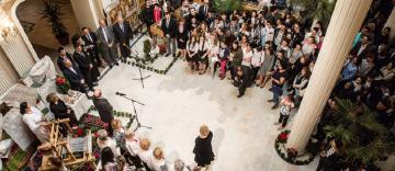 """Expozitie pascală și film documentar la Teatrul """"Maria Filotti"""" din Brăila"""