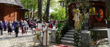 """Hramul parohiei gălăţene """"Sfântul Atanasie al III-lea, Patriarhul Constantinopolului"""""""
