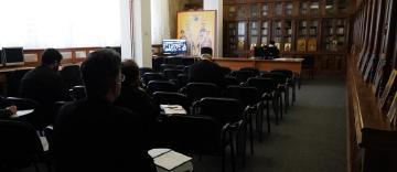 Întrunire duhovnivească a preoţilor din Arhiepiscopia Dunării de Jos pentru deschiderea sărbătorii Sfântului Apostol Andrei
