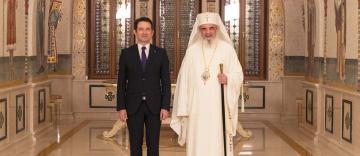 Noul ambasador al Elveției la Bucureşti în vizită de prezentare la Patriarhia Română