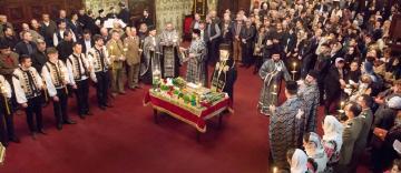 Prohodul Domnului la Catedrala Arhiepiscopală din Galaţi
