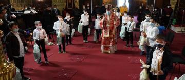 Rânduiala Spălării Picioarelor la Catedrala Arhiepiscopală din Galaţi