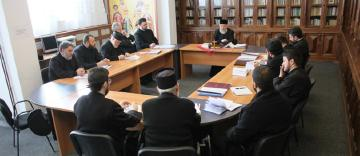 Şedinţa de lucru a Permanenţei Consiliului Eparhial cu protopopii din cele opt protopopiate ale eparhiei Dunării de Jos