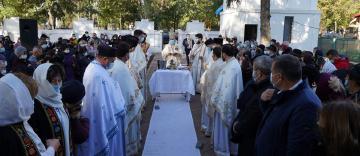 Sfinţirea bisericii din localitatea Mircea Vodă, judeţul Brăila