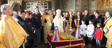 """Te Deum în Catedrala Arhiepiscopală, în biserica """"Vovidenia"""" din Galaţi şi în toate bisericile din Eparhia Dunării de Jos, la aniversarea a 160 de ani de la Unirea Principatelor Române (24 ianuarie 2019)"""